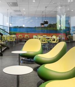 Lounge och konferensavdelning