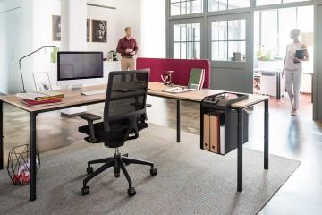 Open Mind svart, perfekta kontoret