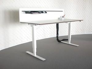 Motorbord VX, vitlack h=63-128cm